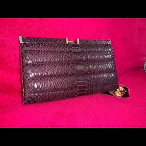 Plum Clutch NWT